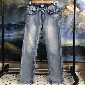Hudson light wash jeans size 12